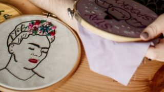Summer Flowers Embroidery Crafternoon Tea