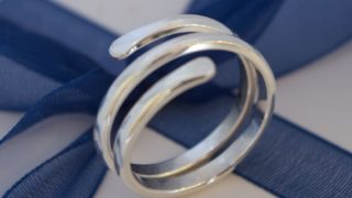 Silver Jewellery Making Crafternoon Tea Workshop: Wrap Around Ring