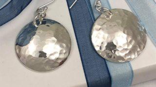 Silver Jewellery Making Crafternoon Tea Workshop: Silver Earrings