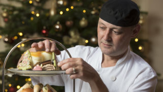 CHRISTMAS LIGHT SWITCH ON WITH AFTERNOON TEA