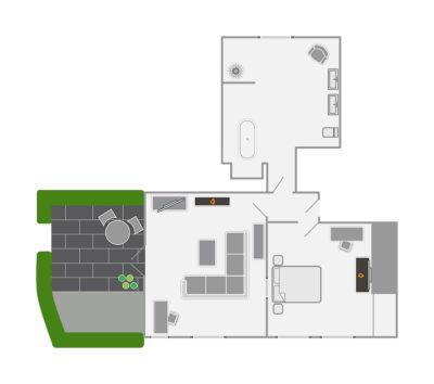 Room 1 Floorplan